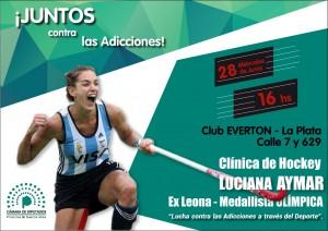 Luciana Aymar se suma a la campaña contra las adicciones de Diputados