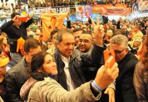 """Scioli: """"Si no se da la unidad, iremos a la interna y san se acabó"""""""