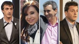 Bullrich, Cristina, Randazzo y Massa, van por la senaduría en la Provincia