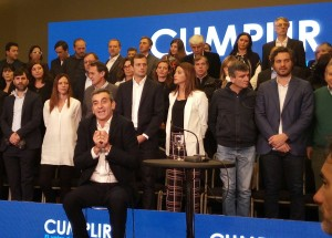 """Randazzo presentó su candidatura y habló de ponerle """"un límite a Macri"""""""
