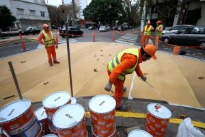 Avanzan las obras de renovación urbana en La Plata