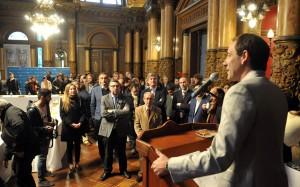 """Garro: """"Estoy orgulloso del periodismo de nuestra ciudad"""""""
