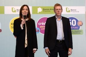 Vidal anunció beneficios para reactivar el consumo