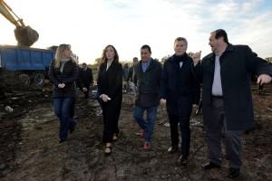Vidal y Macri salen a reforzar la imagen de Gladys González