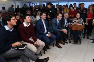 """En campaña, Michetti y Garro lanzaron """"Punto Digital"""" La Plata"""