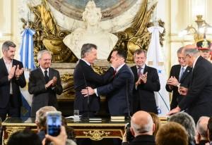 Finocchiaro asumió como ministro de Educación de la Nación