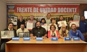 Vidal anunció que volverá a convocar a los gremios docentes
