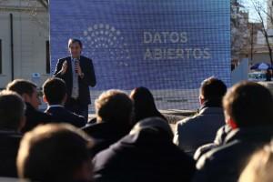 """Datos Abiertos, el portal que presentó Garro """"para seguir abriendo la gestión a los vecinos"""""""