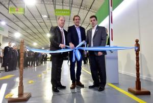 Garro y Ritondo inauguraron una nueva planta de verificación vehicular