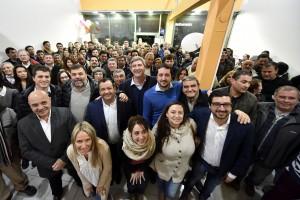 Con presencia de candidatos, Cambiemos inauguró un local en Gonnet