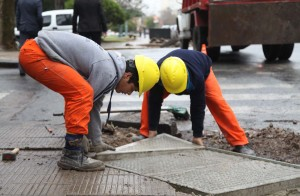 La Municipalidad comenzó con la construcción de 800 rampas para discapacitados