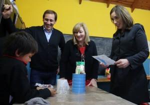 Vidal y Garro recorrieron la Casa del Niño de La Plata