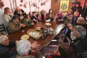 A pleno con la campaña, Vidal destacó el avance de obras hidráulicas