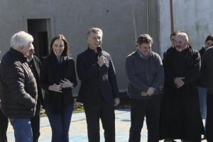 Macri y Vidal hicieron pie en un distrito peronista