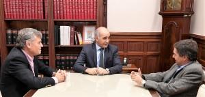 Salvador, Lorenzino y Honores pasan revista a los ajustes en los servicios