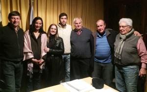 El randazzismo se reunió con representantes de la Liga Amateurs Platense de Fútbol