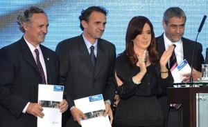 El guiño de Cristina a Katopodis a favor de la unidad peronista