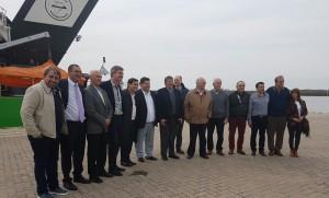 Acuerdan medidas para el desarrollo de las Pymes y el Puerto La Plata