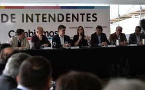 Vidal bajó línea en el Foro de Intendentes de Cambiemos