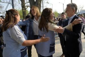 Inseparables, Macri y Vidal volvieron a mostrar avances de obras