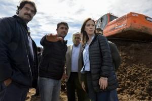 """Vidal, en Villegas: """"Las obras se están haciendo"""""""