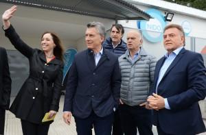 Macri y Vidal llevaron la campaña a un distrito peronista
