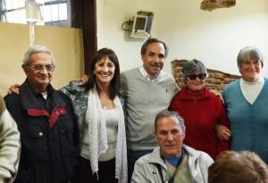 Mirta Tundis estuvo en La Plata y se reunió con jubilados