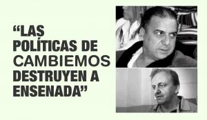 CON TODO: El Municipio difundió esta leyenda con las imágenes de Adalberto Del Negro y Gustavo Asnaghi.