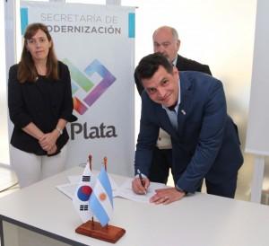 La Plata busca convertirse en una ciudad inteligente gracias a un acuerdo con Corea del Sur y el BID