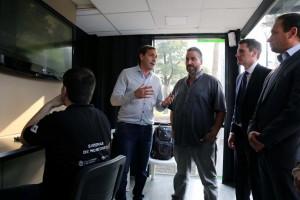 El Municipio presentó el primer Centro de Monitoreo Barrial