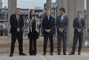 Macri y Vidal anunciaron inversiones en Bahía Blanca