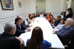 """Cristina busca presentarse como """"la voz de la sociedad en el Congreso"""""""