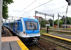 Garro destacó los avances para la llegada del tren a la Ciudad