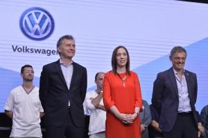 Vidal celebró el anuncio de inversiones hecho por Volkswagen