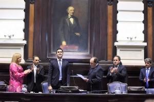 Con un PJ fragmentado, asumieron los nuevos legisladores bonaerenses