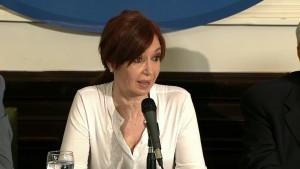 Cristina se defendió y acusó a Macri de manipular a la Justicia