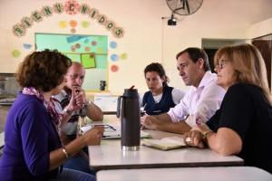 Garro busca apuntalar el servicio alimentario en las escuelas