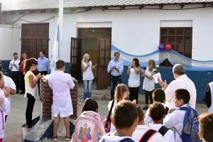 Garro habló de mejorar la educación pública en La Plata