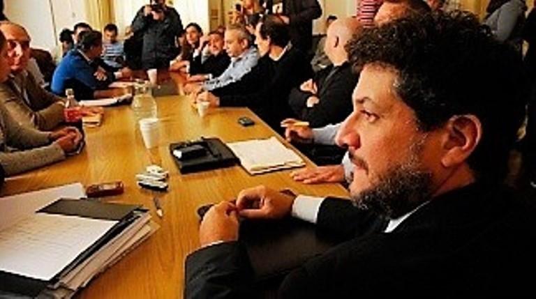 El suspendido juez platense, Luis Federico Arias.