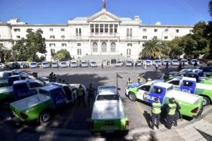 Inseguridad: La Plata suma 30 patrulleros y 200 policías