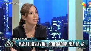 Vidal: «El problema no son los docentes, son los dirigentes gremiales»