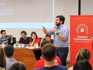 La Juventud Radical de Provincia lanzó una escuela de formación política
