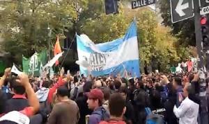 Marcha a la Gobernación por la reactivación del Astillero Río Santiago