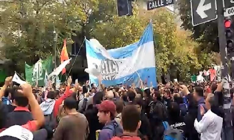 Marcha de Astillero Río Santiago
