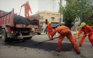 Pusieron en marcha un plan de recuperación de infraestructura vial