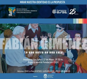 La Fundación OSDE inaugura una muestra del pintor Fabián Giménez
