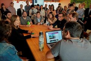 Vidal visitó una empresa platense que invirtió $1.200 millones