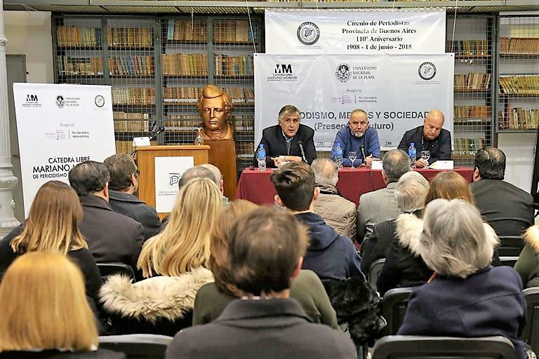 Círculo de Periodistas - Cátedra Libre Mariano Moreno