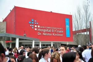 Denuncian un recorte superior al 40% en el Hospital El Cruce