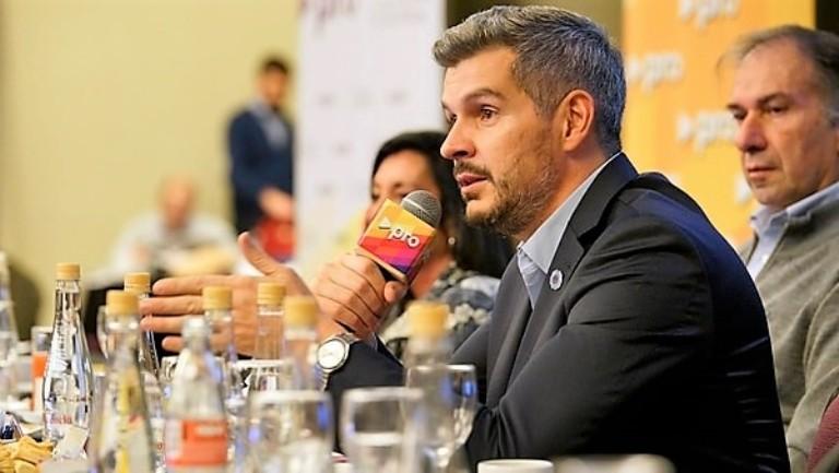 Marcos Peña cumbre del Pro